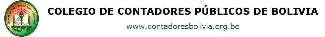 Colegio de Contadores de Bolivia